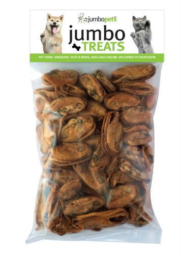 Jumbo Pets Jumbo Treats Green Lipped Mussels 250g