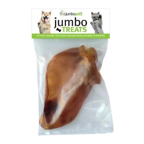 Jumbo Pets Jumbo Treats Pigs Ears 100 pack