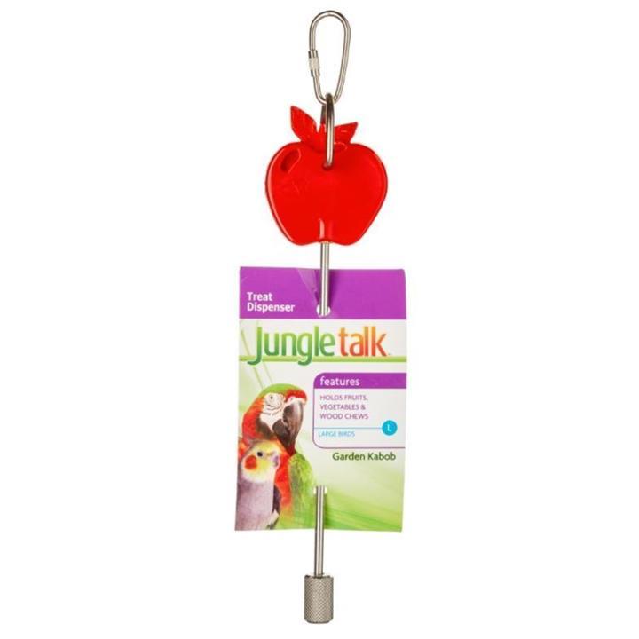 Jungle Talk Garden Kabob Bird Toy Large