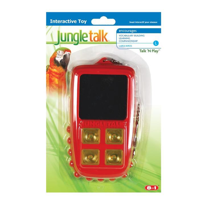 Jungle Talk Talk & Play Bird Toy Large