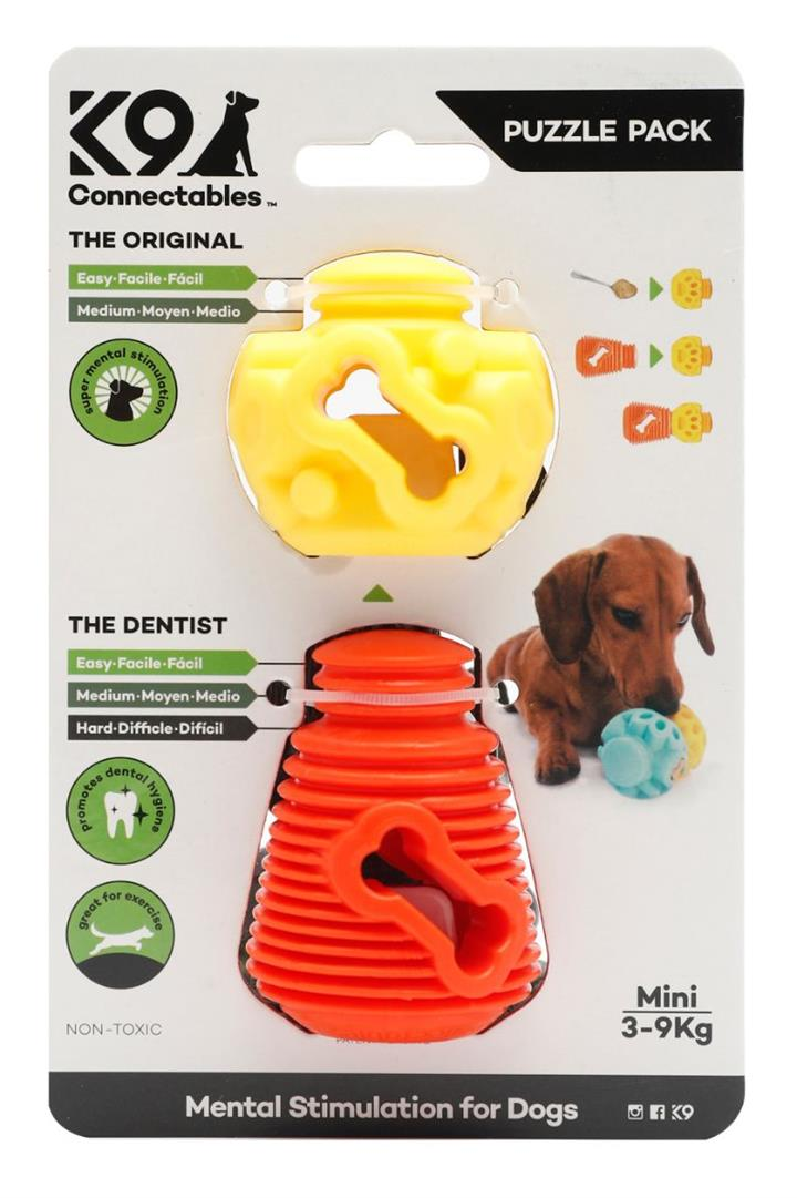 K9 Connectables Puzzle Pack Dog Toy Mini