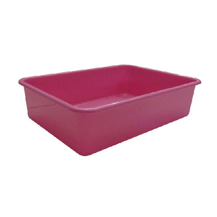 K9 Homes Cat Litter Tray Deep Pink 44x31x11cm
