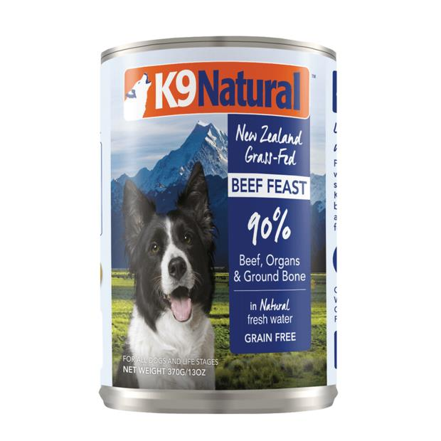 K9 Natural Beef Feast Canned 12 X 370g
