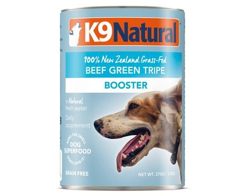 K9 Natural Canned Beef Green Tripe Feast 370g