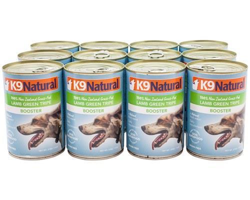 K9 Natural Canned Lamb Green Tripe Feast 370gx12