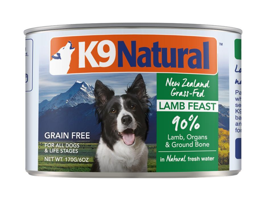 K9 Natural Canned Lamb Green Tripe Feast Dog Food 24x170g