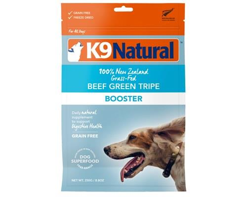 K9 Natural Freeze Dried Beef Green Tripe Booster 250g