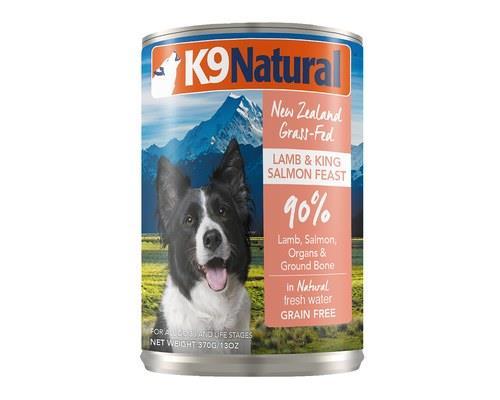 K9 Natural Lamb And King Salmon Feast 370g