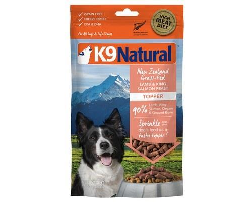 K9 Natural Lamb And King Salmon Topper 100g