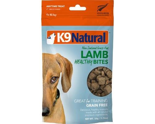 K9 Natural Lamb Freeze Dried Bites Dog Treat 50g