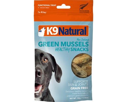 K9 Natural Snacks Freeze Dried Green Lipped Mussel 50g