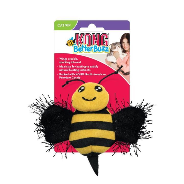 KONG Cat Toy Better Buzz Bee