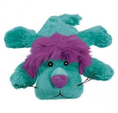 KONG Cozie - Low Stuffing Snuggle Dog Toy - King Lion - Medium