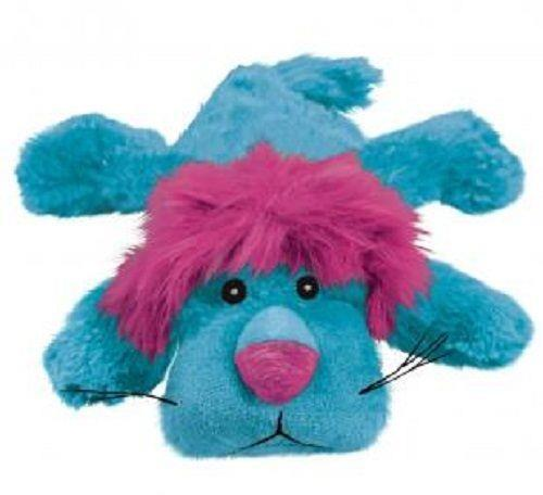 KONG Cozie - Low Stuffing Snuggle Dog Toy - King Lion - Small