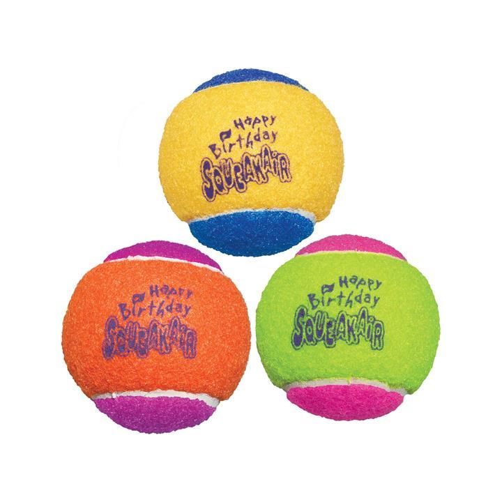 KONG Dog Toy Airdog Squeaker Birthday Balls