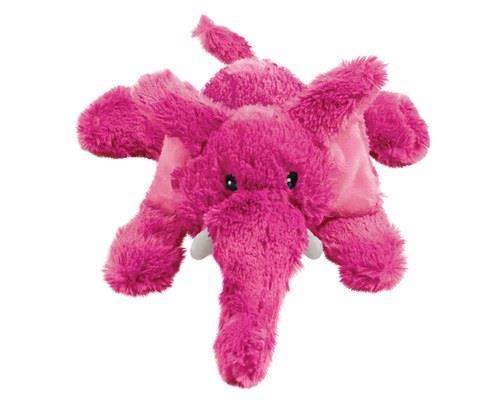 KONG Dog Toy Cozie Elmer Elephant Small