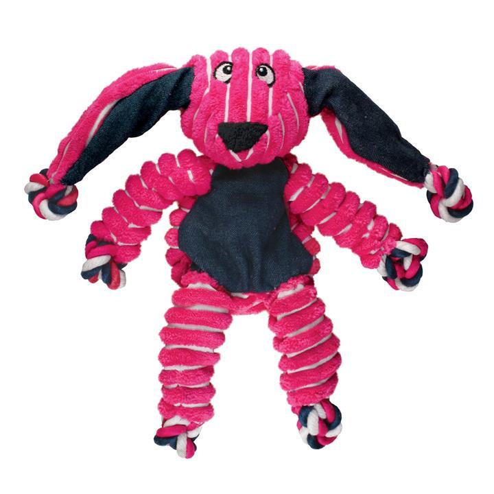 KONG Dog Toy Floppy Knots Bunny Medium / Large