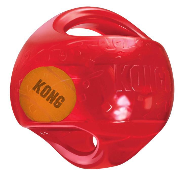 KONG Dog Toy Jumbler Ball Large