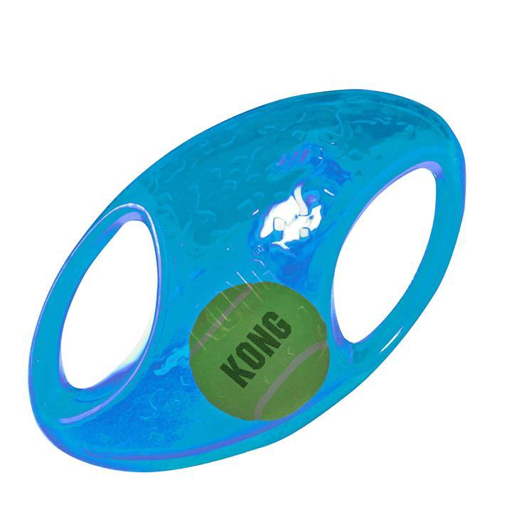 KONG Dog Toy Jumbler Football Large