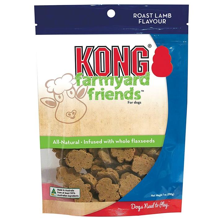 KONG Dog Treat Farmyard Friends Roast Lamb 200g