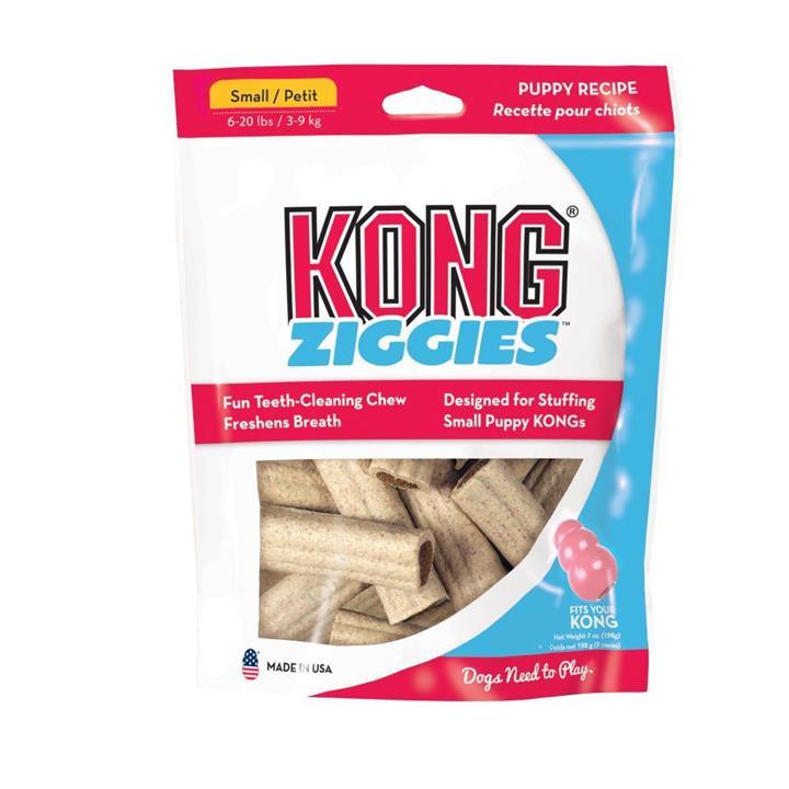 KONG Dog Treat Stuff'N Puppy Ziggies Small 200g