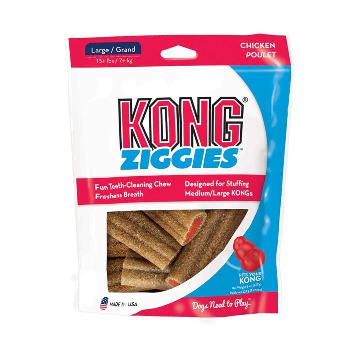 KONG Dog Treat Stuff'N Ziggies Large 225g