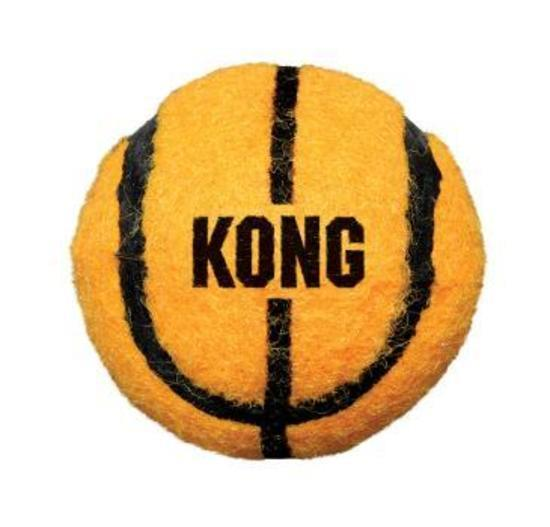 KONG Sport Tennis Balls Dog Toys in Assorted Sport Codes - 2 pack Large