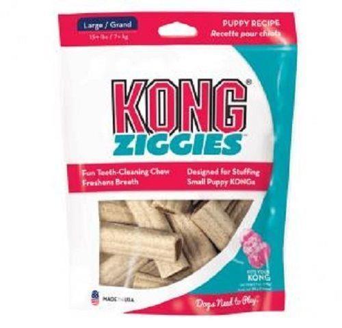 KONG Stuff'N Ziggies Puppy Recipe Breath Freshening Dog Treats - Made in USA - Small