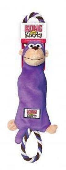 KONG Tugger Knots Tug & Fetch Dog Toy - Medium/Large Monkey