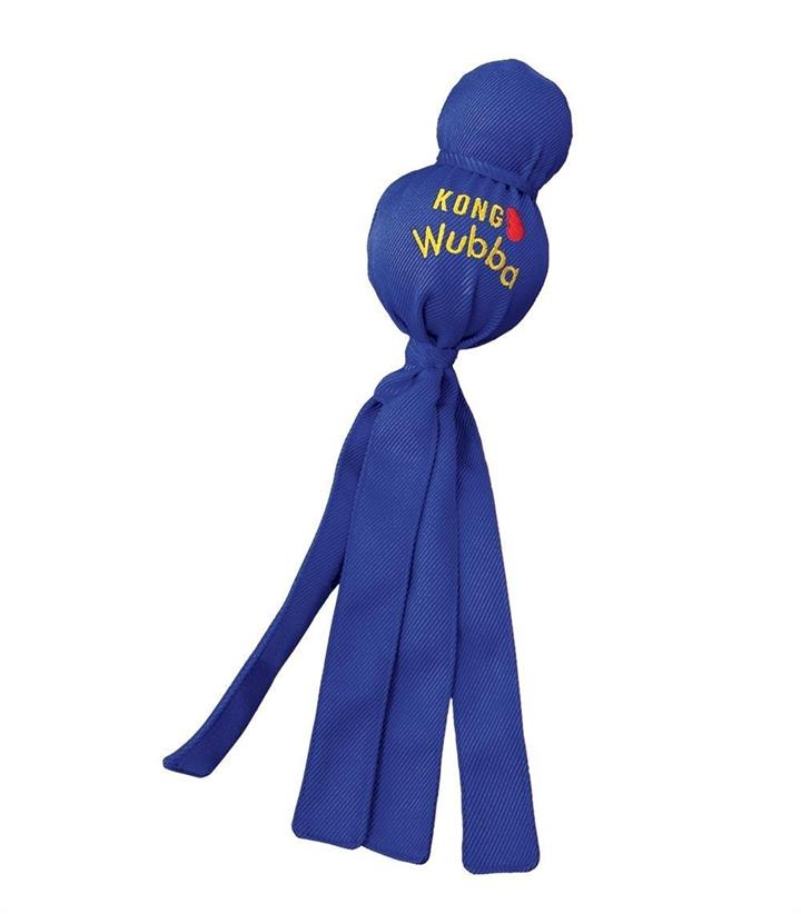 KONG Wubba Tug Toy for Dogs in Assorted Colours - X-Large