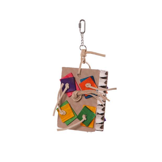Kazoo Bird Toy Cardboard Activity Board Small