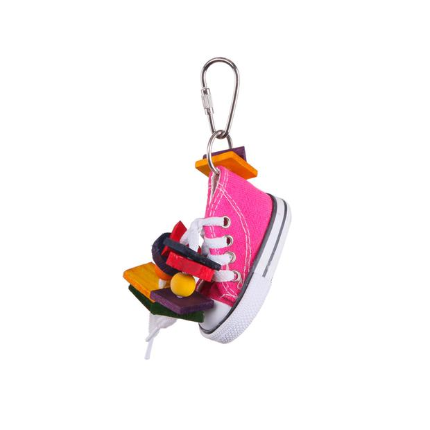 Kazoo Bird Toy With Sneaker And Chips Small