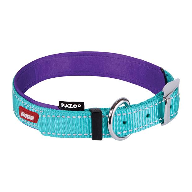 Kazoo Collar Active Aqua Medium