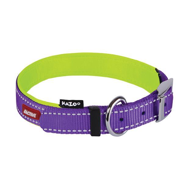 Kazoo Collar Active Purple X Large