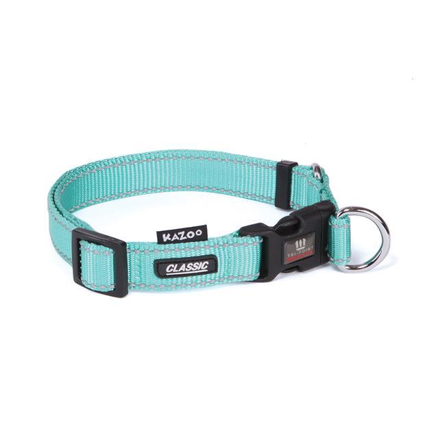 Kazoo Collar Classic Adjustable Mint Medium