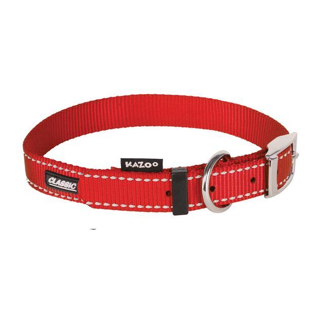 Kazoo Collar Classic Red X Large