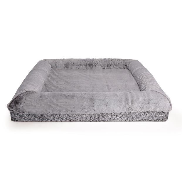 Kazoo Dog Bed Wombat Grey Medium