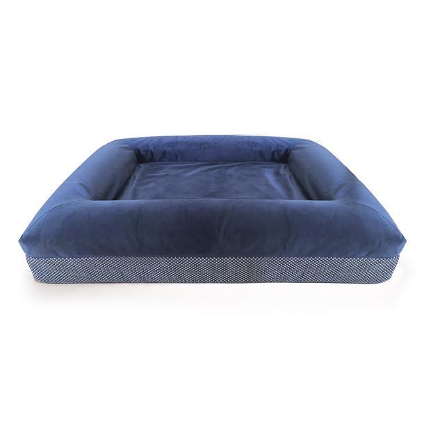 Kazoo Dog Bed Wombat Midnight Blue Large