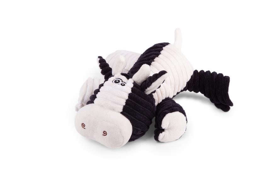 Kazoo Funky Cow Furries Dog Toy