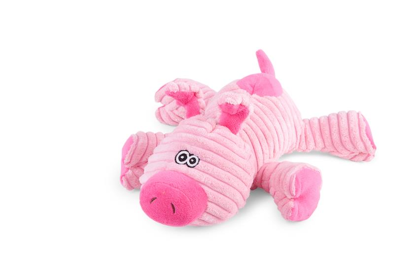 Kazoo Funky Pig Furries Dog Toy