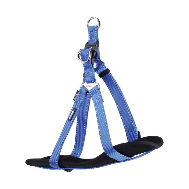 Kazoo Harness Classic Nylon Blue Medium