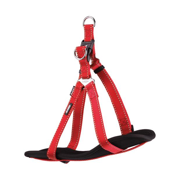 Kazoo Harness Classic Nylon Red Medium