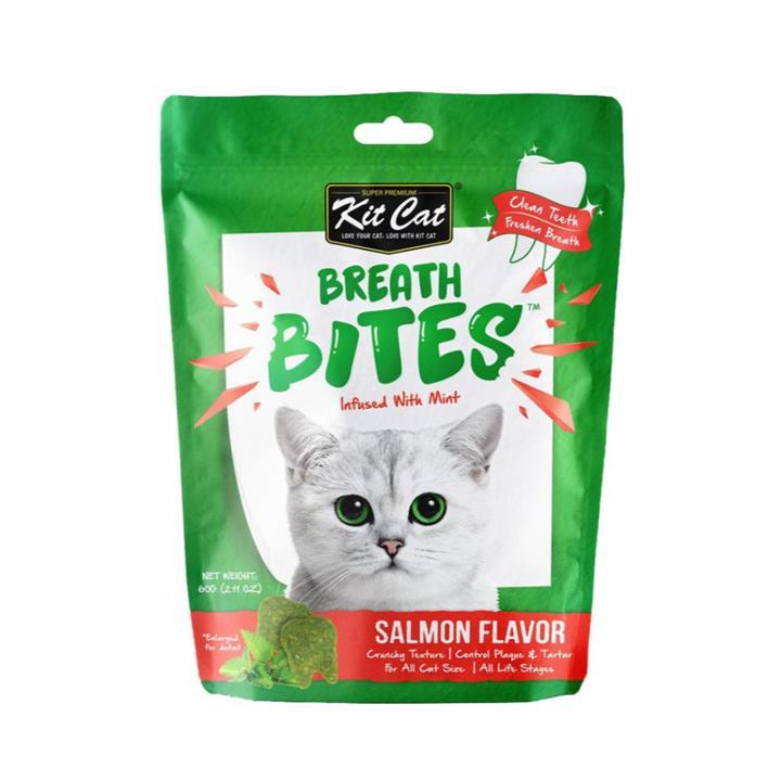 Kit Cat Breath Bites Salmon Cat Treat 50g