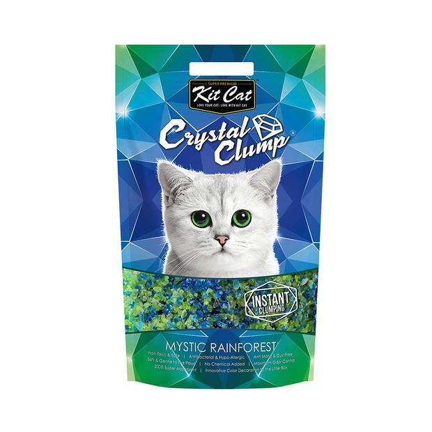 Kit Cat Litter Clumping Crystal Mystic Rainforest 1.8kg