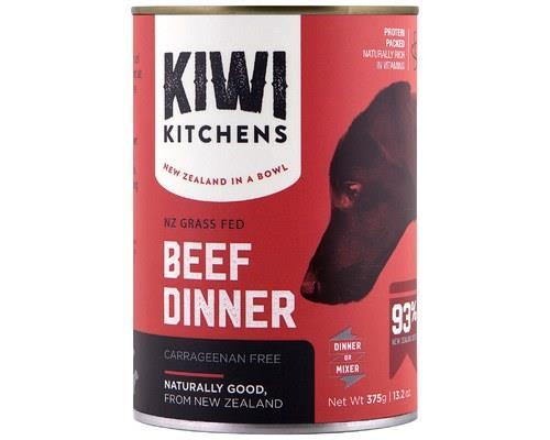 Kiwi Kitchens Dog Beef Wet 375g