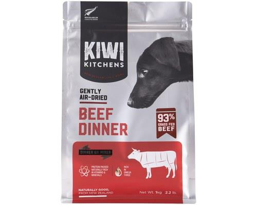 Kiwi Kitchens Dog Gently Air Dried Beef Dinner 1kg