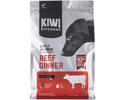 Kiwi Kitchens Dog Gently Air Dried Beef Dinner 2kg