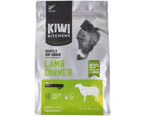 Kiwi Kitchens Dog Gently Air Dried Lamb Dinner 1kg