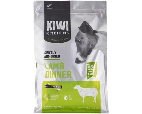 Kiwi Kitchens Dog Gently Air Dried Lamb Dinner 2kg