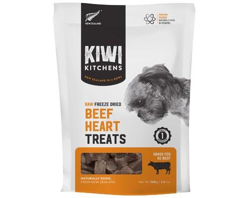 Kiwi Kitchens Freeze Dried Beef Heart 110g